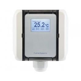 Aussentemperatur-Messumformer, aktiver Ausgang (0-10 V oder 4-20 mA)