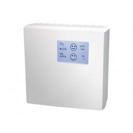 CO2 und Mischgas VOC Luftqualitätsfühler für den Innenraum mit Messbereichsumschaltung, aktiver Ausgang (0-10 V oder 4-20 mA)