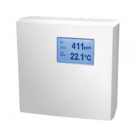 CO und Temperaturfühler für den Innenraum mit Messbereichsumschaltung, aktiver Ausgang (0-10 V oder 4-20 mA)