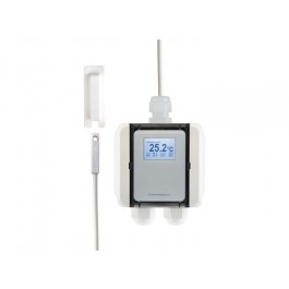 Temperatur-Messumformer mit selbstklebendem Oberflächenfühler, digitaler Ausgang