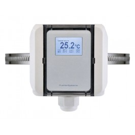 Temperatur-Messumformer Anlege mit Spannband, digitaler Ausgang