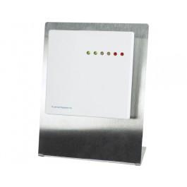 Multi-Sensor-Messgerät Raum für CO2, Feuchte und Temperatur mit Ampelanzeige und Tischständer