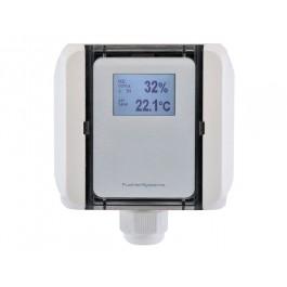 Kanalluftqualitätsfühler für Mischgas (VOC) und Temperatur, aktiver Ausgang (0-10 V oder 4-20 mA)