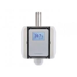 Feuchte-/Temperaturmessumformer Aufputz, aktiver Ausgang (0-10 V oder 4-20 mA)