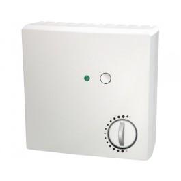 Raumtemperaturfühler mit Potentiometer, Taster und LED