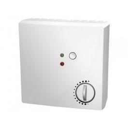 Raumtemperaturfühler mit Poti, Taster und 2 LEDs