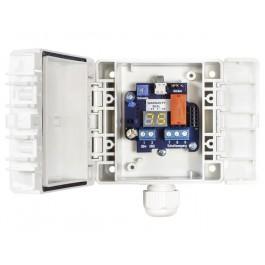 Kanalhygrostat, elektronisch, schaltender Ausgang (Wechselkontakt)