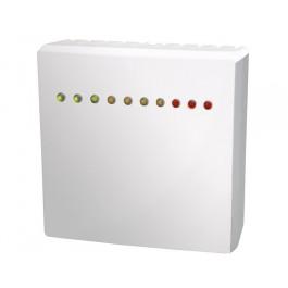Raumluftqualitätsfühler für Mischgas (VOC) mit LED-Anzeige, aktiver Ausgang (0-10 V oder 4-20 mA)
