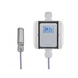 Feuchte-/Temperaturmessumformer mit Pendelfühler, aktiver Ausgang (0-10 V oder 4-20 mA)