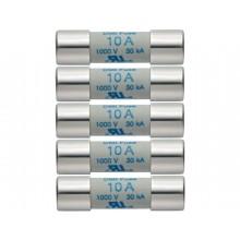Ersatz-Sicherungen 10 A / 1000 V - 5 Stück