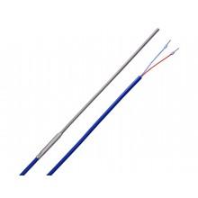 Mantel-Thermoelement Typ L mit 2m Silikon-Leitung