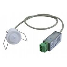 Mini-Bewegungsfühler mit Infrarot Sensor für die Deckenmontage, schaltender Ausgang (Schliesskontakt)