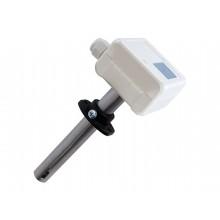 CO Luftqualitätsfühler für Luftkanäle mit Messbereichsumschaltung, aktiver Ausgang (0-10 V oder 4-20 mA)