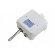 CO und Temperaturfühler mit Messbereichsumschaltung, aktiver Ausgang (0-10 V oder 4-20 mA)
