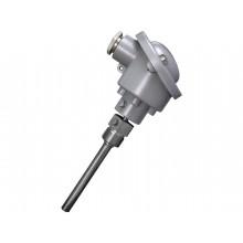 Einschraubtemperatur-Messumformer mit Anschlusskopf Form B, aktiver Ausgang (0-10 V oder 4-20 mA)