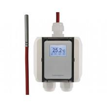 Temperatur-Messumformer mit Kabelfühler Silikon-Leitung, digitaler Ausgang