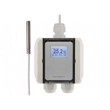 Temperatur-Messumformer mit Kabelfühler PTFE-Leitung, digitaler Ausgang