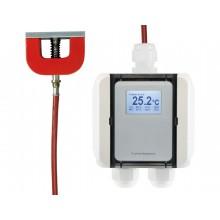 Temperatur-Messumformer mit magnetischem Oberflächenfühler, digitaler Ausgang