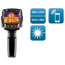 testo 872 - Wärmebildkamera (320 x 240 Pixel, App, Laser)