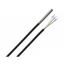 Kabeltemperaturfühler mit Silikon-Leitung, digitaler Ausgang (1-Wire)