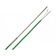 Mantel-Thermoelement Typ K mit 2m PVC-Leitung