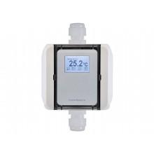 Pt100 Temperatur-Messumformer 0-10V / 4-20mA mit Doppel-PG-Gehäuse