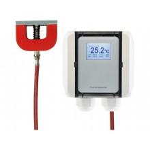 Oberflächentemperatur-Messumformer mit Magnet, aktiver Ausgang (0-10 V oder 4-20 mA)