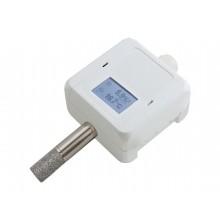Feuchte-/Temperaturmessumformer, hochgenau mit Kalibrierzertifikat, aktiver Ausgang (0-10 V oder 4-20 mA)