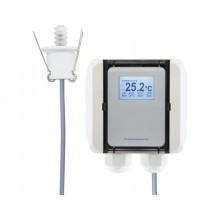 Feuchte-/Temperaturmessumformer für die Deckenmontage, aktiver Ausgang (0-10 V oder 4-20 mA)