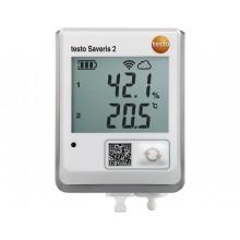 testo Saveris 2-H2 - Funk-Datenlogger mit Display und anschließbarem Temperatur- und Feuchtefühler