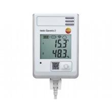 testo Saveris 2-H1 - Funk-Datenlogger mit Display und integriertem Temperatur- und Feuchtefühler