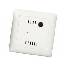 Unterputz - Raumtemperaturfühler mit Taster und LED