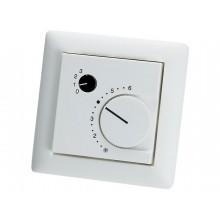 Unterputz - Raumtemperaturfühler mit Potentiometer und Drehschalter
