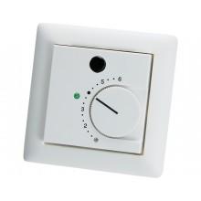 Unterputz - Raumtemperaturfühler mit Potentiometer, Taster und LED