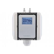 Druckmessumformer für Volumenstrom und Differenzdruck, aktiver Ausgang (0-10 V oder 4-20 mA)