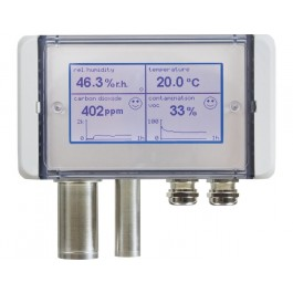 Multifunctional air quality sensor for CO2, mixed gas VOC, humidity, temperature and atmospheric/barometric air pressure