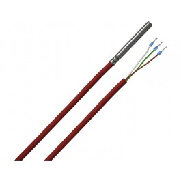1-wire cable temperature sensor with silicone cable