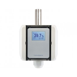 Humidity transducer with passive temperature output
