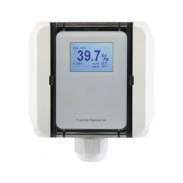 Humidity / temperature transducer for air ducts, high precision with calibration certificate