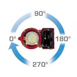 Duct smoke detector for air ventilation ducts
