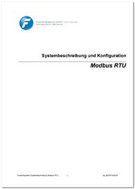 Systembeschreibung und Konfiguration Modbus RTU